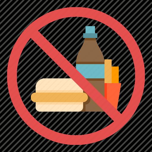 Diet, food, junk, no, nutrition icon - Download on Iconfinder