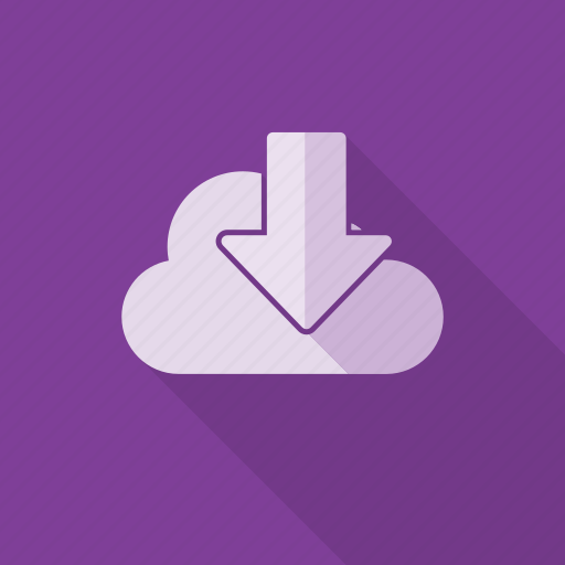 cloud, download, export, import, save icon