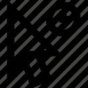 arrows, clock, computermouse, mouseclicker, pointer, time icon