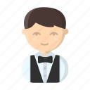 appearance, bartender, image, man, person, profession, waiter icon