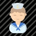 appearance, image, man, person, profession, sailor, seaman