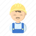 appearance, builder, image, man, person, profession, worker icon