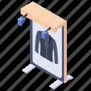 billboard, sale, shirt advertisement, shirt offer, shirt sale icon