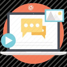 content marketing, customer journey, modern marketing, online marketing, transforming prospects icon