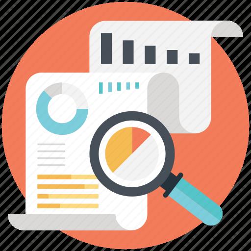 business observation, market analysis, market news, market reporting, market survey icon