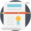 authority, authorization, certificate, licence, permit icon