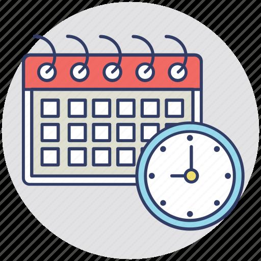 calendar, plan, program, schedule, timetable icon