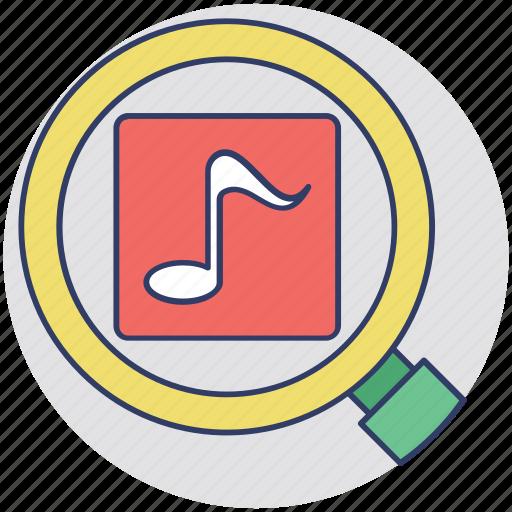 inbound marketing, media exploration, media marketing, music search, social media icon