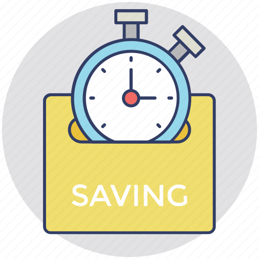 planning process, productivity, time is money, time management, time saving icon