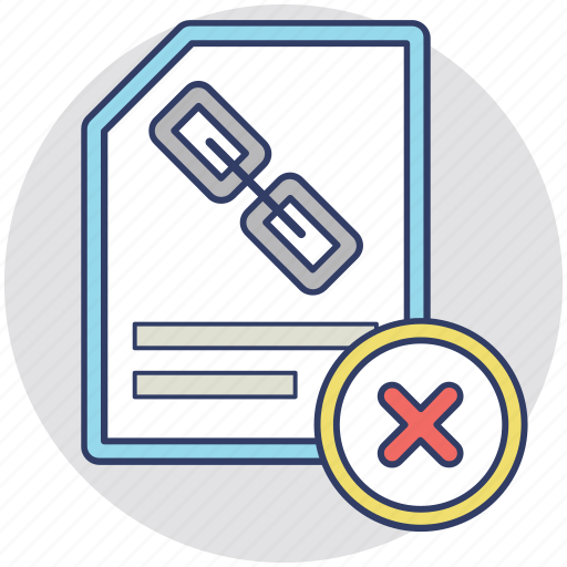 document link, links file, links tracking, my documents, website association icon