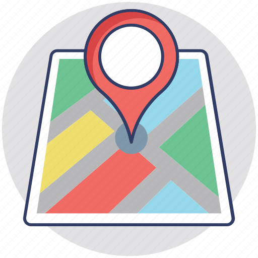 find location, gps, location search, navigation, navigation direction icon