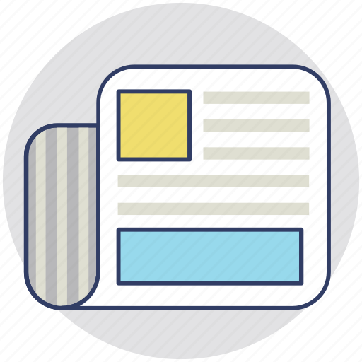Document, evidence, file, record, report icon - Download on Iconfinder