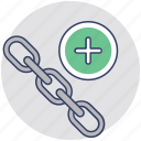 chain link, connection, link building, linkage, seo