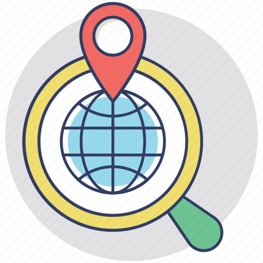 Find location, navigation, navigation direction, search location, gps icon - Download