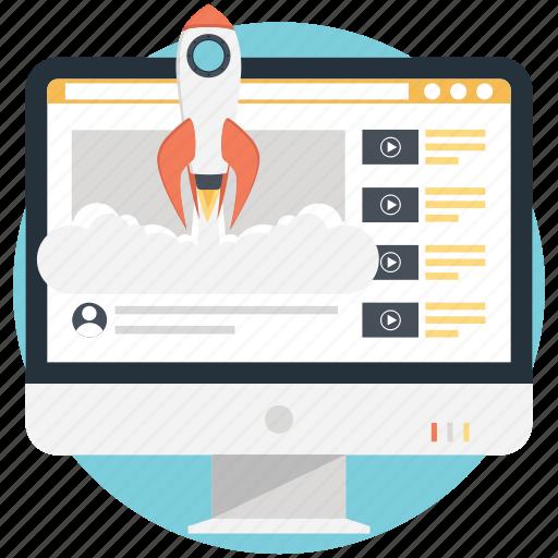 internet video sharing, video advertising, video marketing, video startup, viral video icon