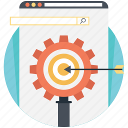 internet marketing, ppc, search engine optimization, seo, web development icon