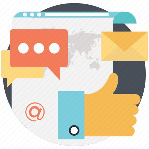digital marketing, social campaign, social platform, social subscription, visitors engagement icon