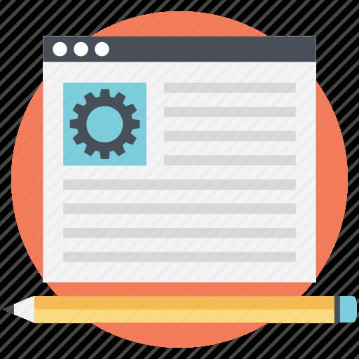 cms, marketing, optimization, seo, web project icon