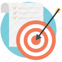aim, bullseye, business, marketing, target icon