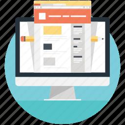 cyberspace, internet site, site, website, www icon