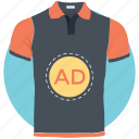 ad, advertisement, custom shirt, sponsored ads, sponsored links icon