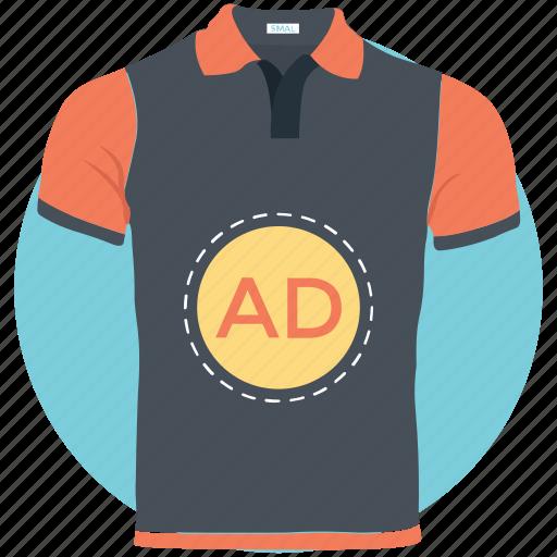 ad, advertisement, custom shirt, sponsored ads, sponsored links icon
