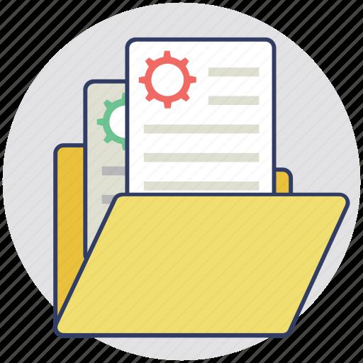 catalogue, files, folder, index, portfolio icon