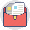 catalogs, documents, files, indexes, records icon