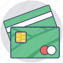 atm card, bank card, credit card, debit card, plastic money icon