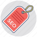 long tail seo, search term, seo tag, seo tool, website development icon