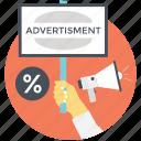 ppc, online marketing, online shopping, digital advertising, internet advertising icon