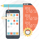 mobile menu, mobile ui, mobile app, mobile application, mobile interface icon