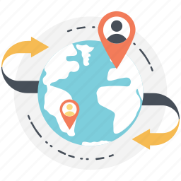 global business, global network, global networks, international networking, worldwide connect icon