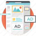 digital marketing, mobile marketing, online advertising, online marketing, ppc icon