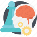 envisioning, business concepts, creativity, brainstorm strategy, teamwork icon