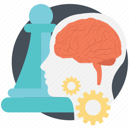 brainstorm strategy, business concepts, creativity, envisioning, teamwork icon