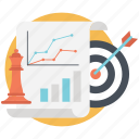 analysis, business ideas, marketing campaign, marketing plan, marketing strategy icon