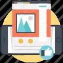 internet technology, web upgrading, web promotion, web optimization, website development icon