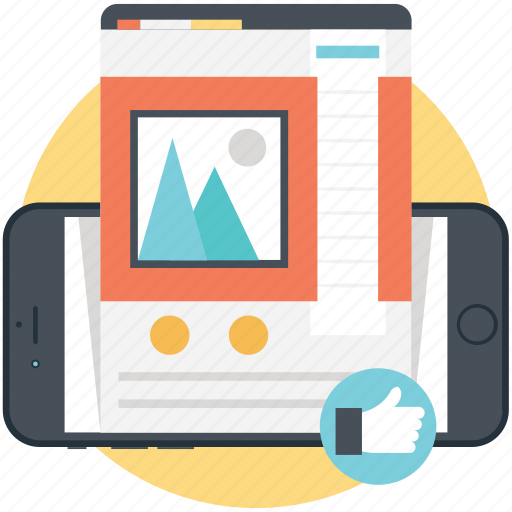 internet technology, web optimization, web promotion, web upgrading, website development icon