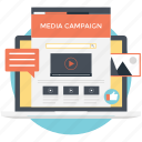 online marketing, media campaign, viral marketing, integrated marketing, social network icon