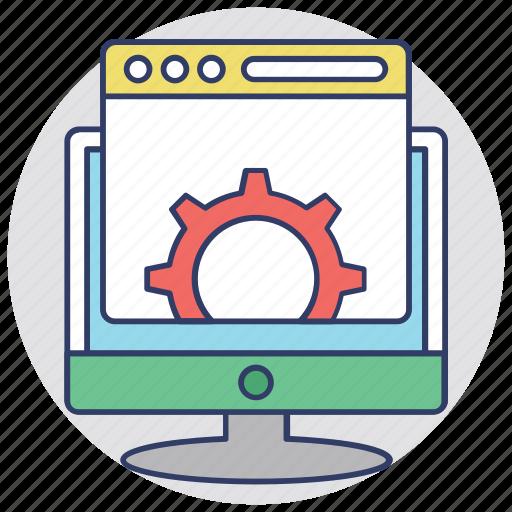 marketing, seo, web presence, website optimization, website traffic icon