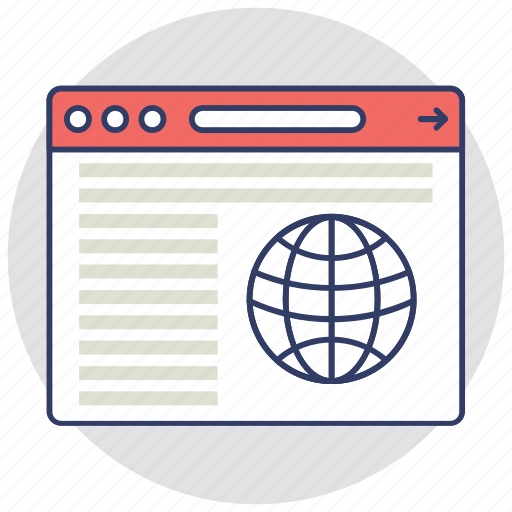 online presence, search engine marketing, web traffic, web visibility, website optimization icon
