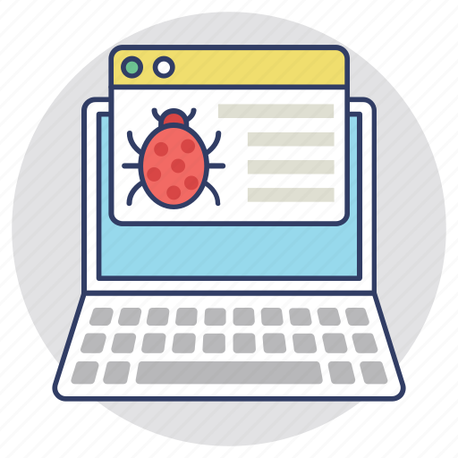 antivirus, bug, cybercrime, malware, virus icon
