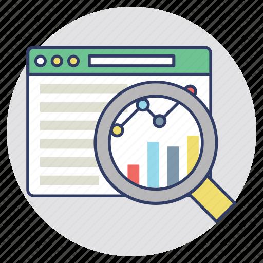 clickstream analysis, key performance indicator, kpi, web analysis, website traffic icon