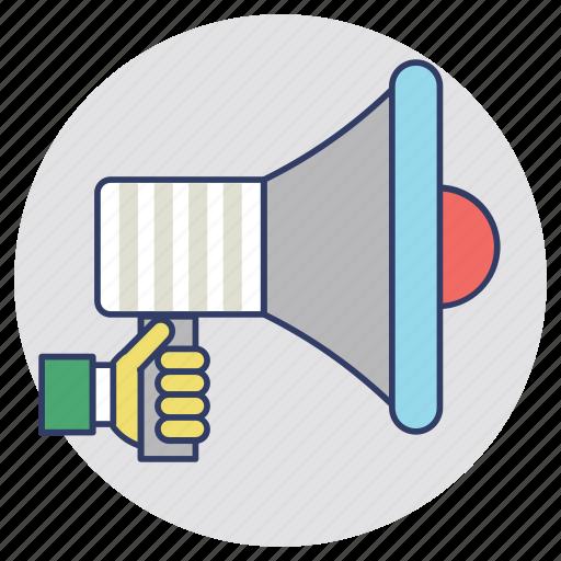 advertising, branding, commercial media, marketing, marketing development icon
