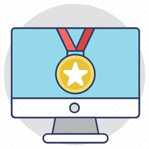 Best in search, best seo company, qualified professional seo, seo award, seo excellence award icon - Download on Iconfinder