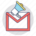 email advertising, email campaign, email marketing, emailing, emarketing icon
