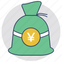 investment, money sack, moneybag, saving, wealth icon