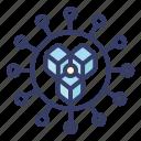 distribute, blockchain, connection, data, secure