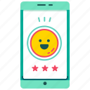 customer satisfaction, e-wallet, feedback, mobile banking, rating, review, smartphone